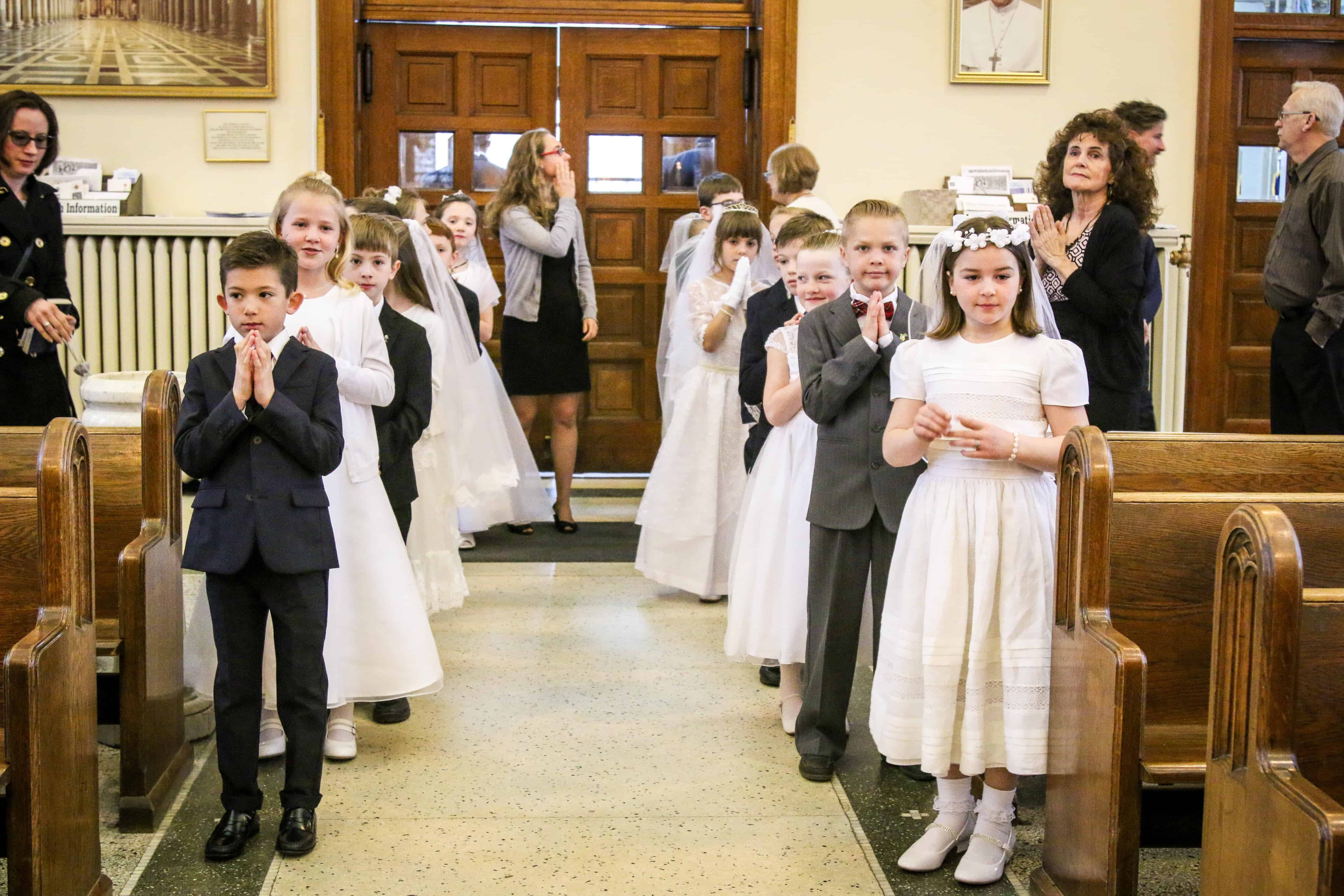 First Holy Communion and Confirmation Registration