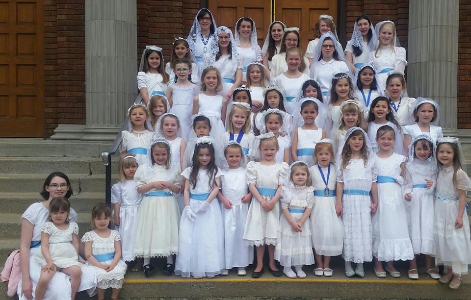 May Crowning at Sacred Heart – May 14