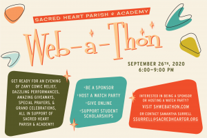 Sacred Heart hosts first Web-a-Thon this Fall 2020