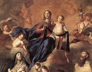 Enrollment into the Brown Scapular-Our Lady of Mt. Carmel