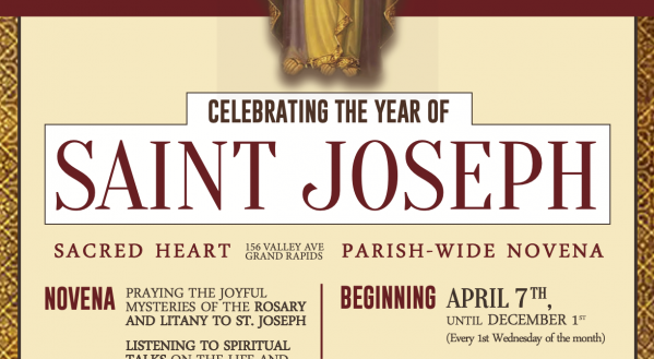 Weekly Novena to Celebrate Saint Joseph