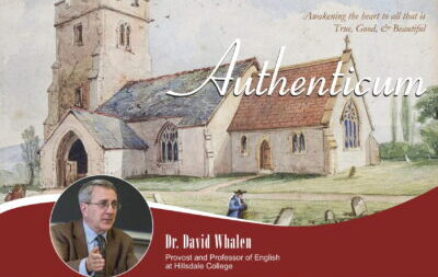Authenticum Lecture with Dr. Whalen – Thursday, Nov. 4 at 6:30pm
